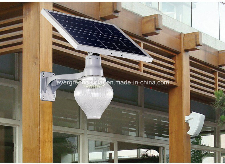 LED 6W Solar Garden Light Apple Integrated Solar LED Light