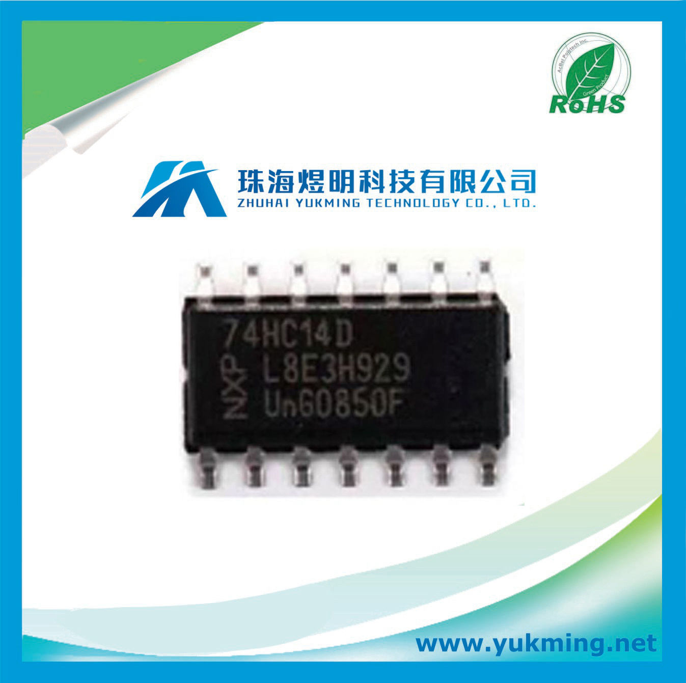 China Hex Inverting Schmitt Trigger Ic 74hc14d Integrated Circuit Circuits Electronic Component Electronics Stock
