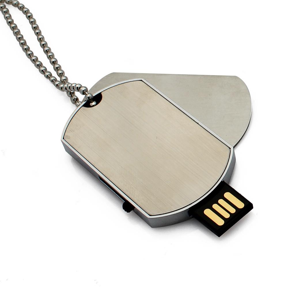 China Lanyard Army Dog Tag U Disk Flash Drive Usb Oem Flashdisk Addlink Otg Dual 32gb Swivel Black