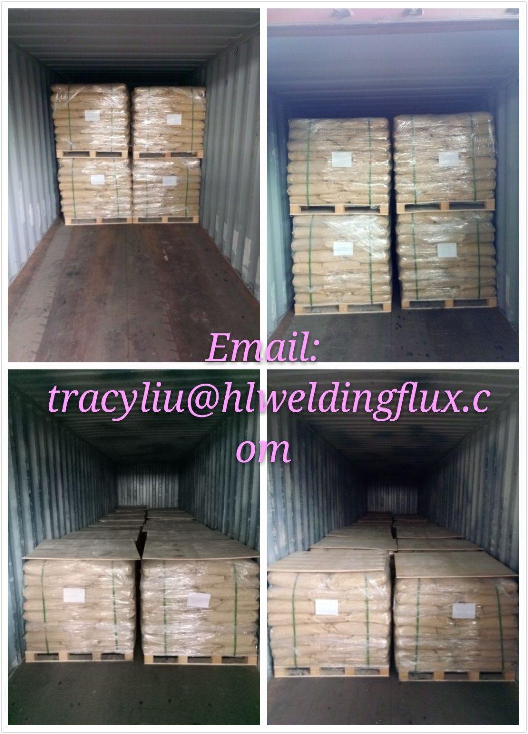 China Welding Powder (sj102) , Esab Ok Flux 10.61 for Flux Cored ...