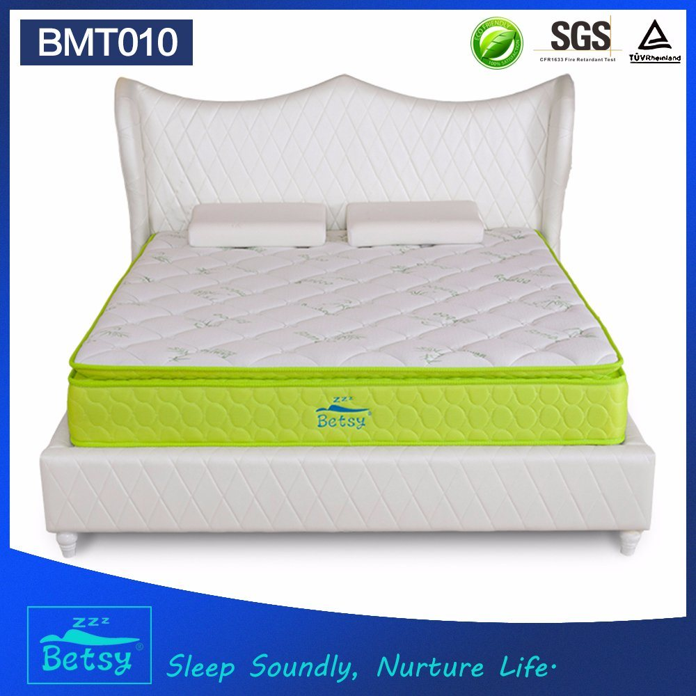 OEM Compressed Hotel Mattress 28cm with Relaxing Pocket Spring and Resilient Foam Layer pictures & photos