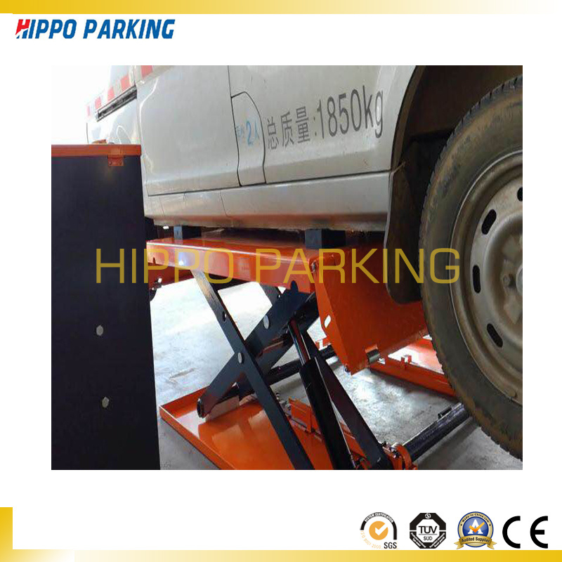 Low Ceiling Car Lift Mini Type Scissor