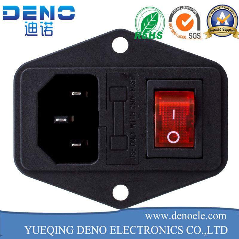 China Panel Mount Us Outlet Power Socket Electrical Socket Female ...
