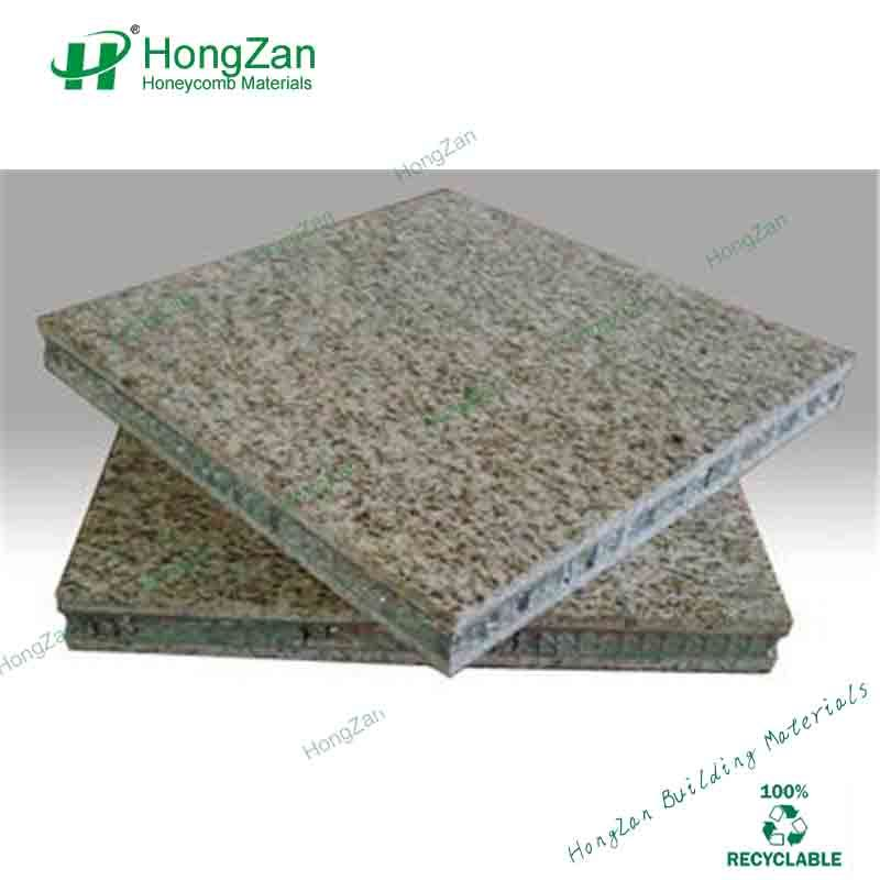 Granite Stone Honeycomb Panel with Waterproof for Household Bathroom Wall Panel