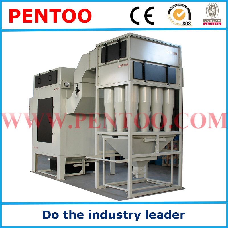 Powder Coating Machine with Recovery System in Powder Coating Line