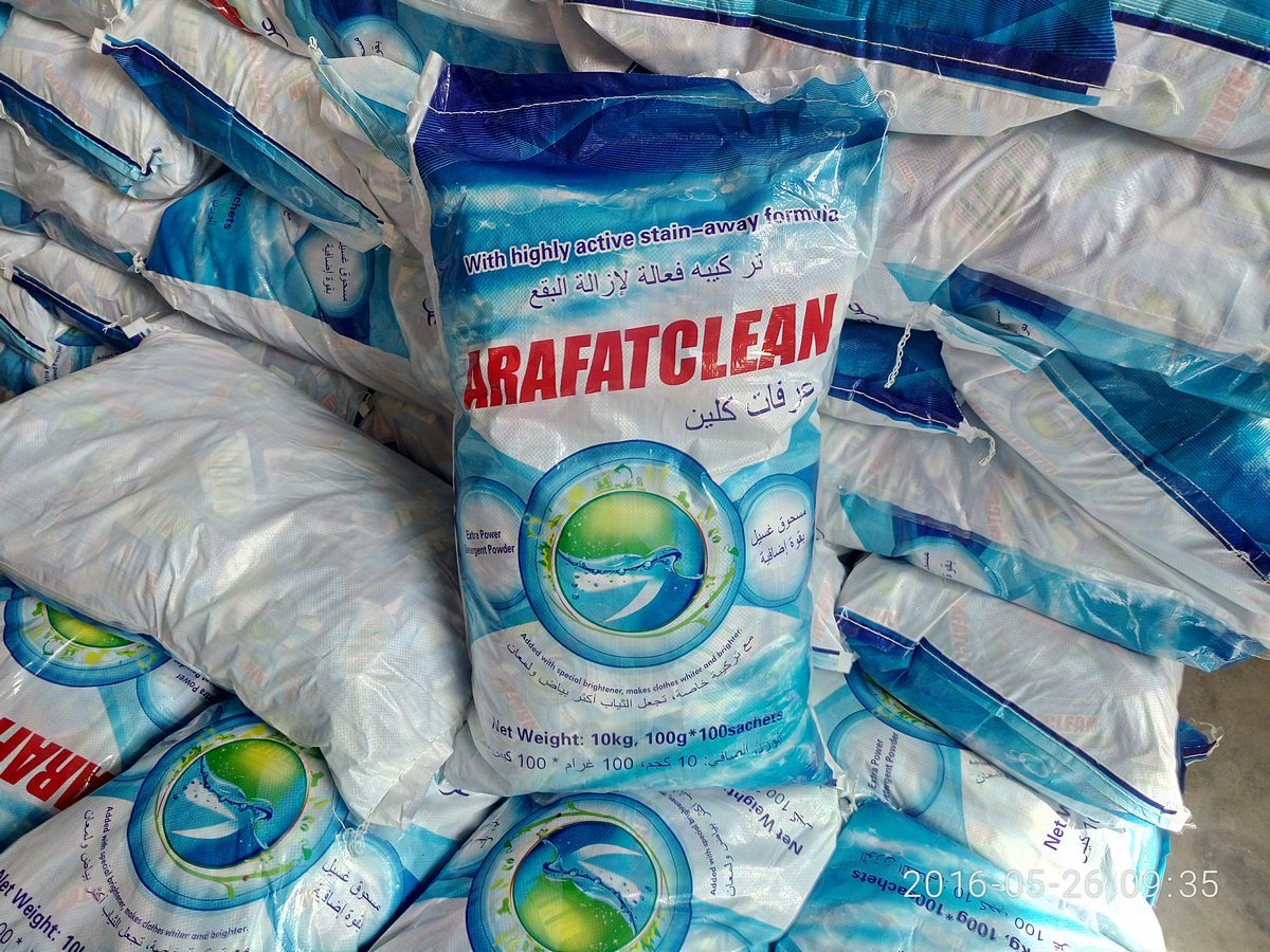 50g/100g/200g/500/1kg/2kg/3kg/4kg/10kg/20kg/25kg Bag Washing Powder Detergent Powder pictures & photos