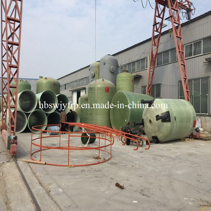 [Hot Item] China Factory FRP GRP 500 Gallon Fiberglass Tank