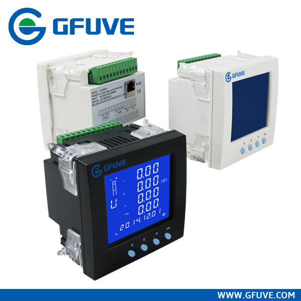 Three Phase Digital Multifunction Stop Ethernet Power Meter with Data Logger