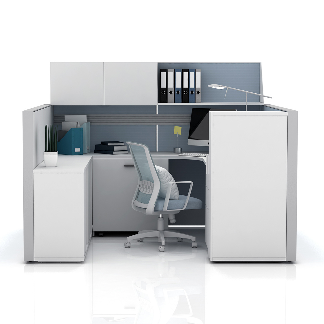 China High Wall Office Cubicle Design