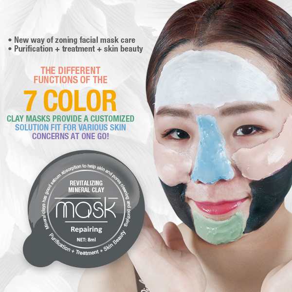masque semi facial ski