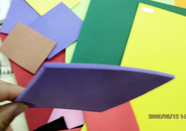 Color EVA Foam for Handworking