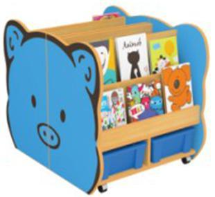 Cute Design Children Wood Toy Storage Cabinet Used Nursery Furniture For Sf 13w