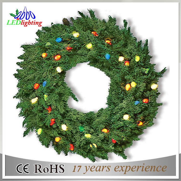 Christmas Event Wreath Decorations