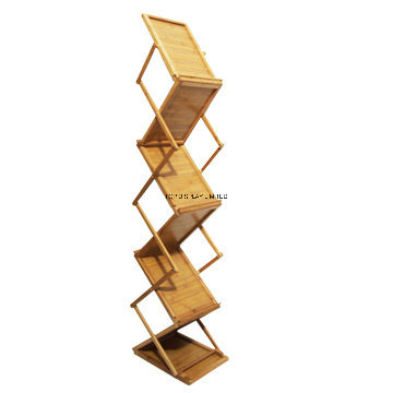 China Pathos Magazine Stand For Office Literature Rack Home Catalogue Folding Brochure Holder