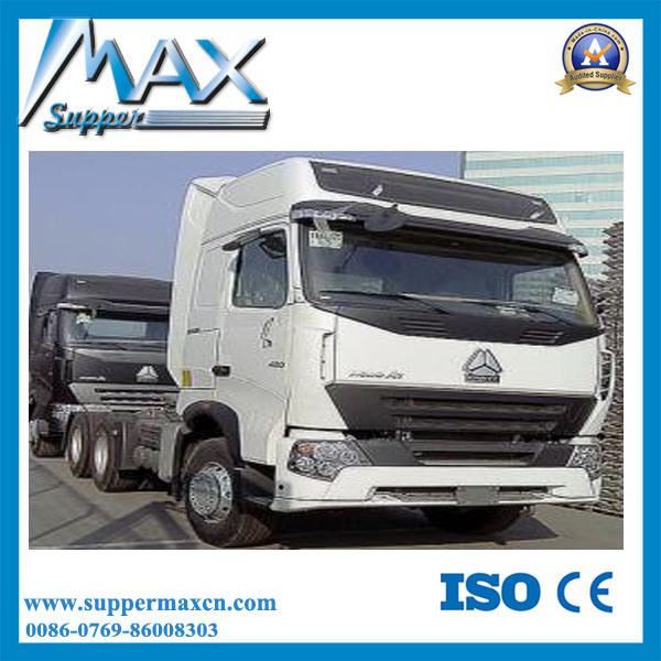 China Sinotruk HOWO A7 6X4 Tractor Truck Double Cab Truck