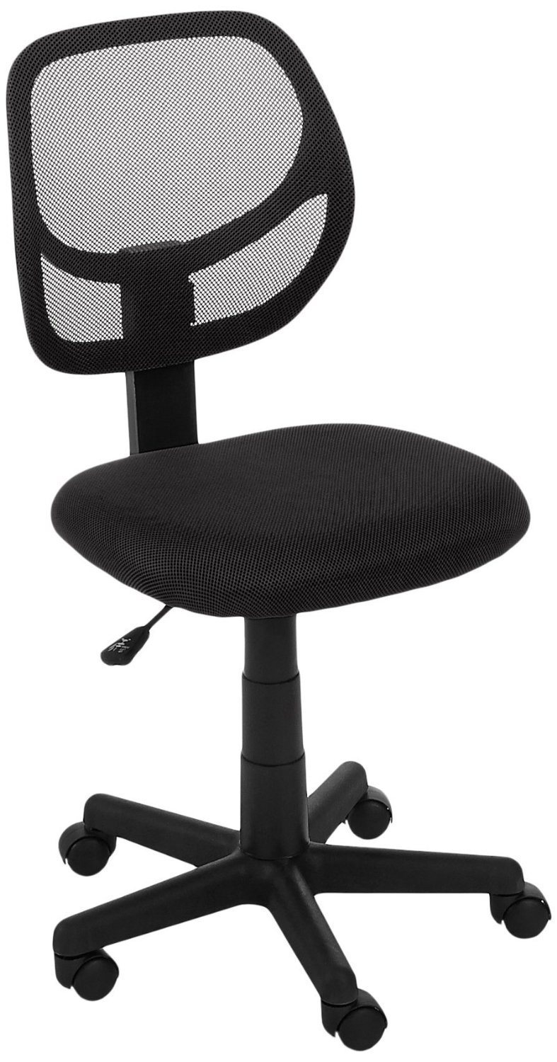 Hot Item Simple Competitive Home Office Furniture Low Back Mesh Computer Chair Ls 41bk