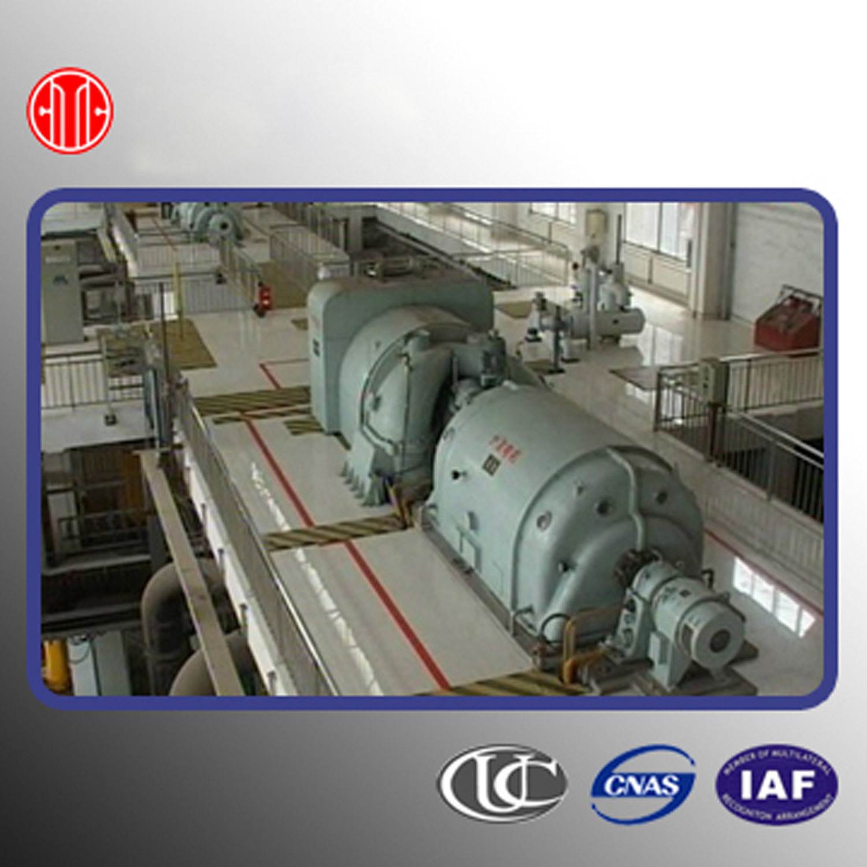 China Back Pressure Steam Turbine with Boiler 1 5 MW China Steam