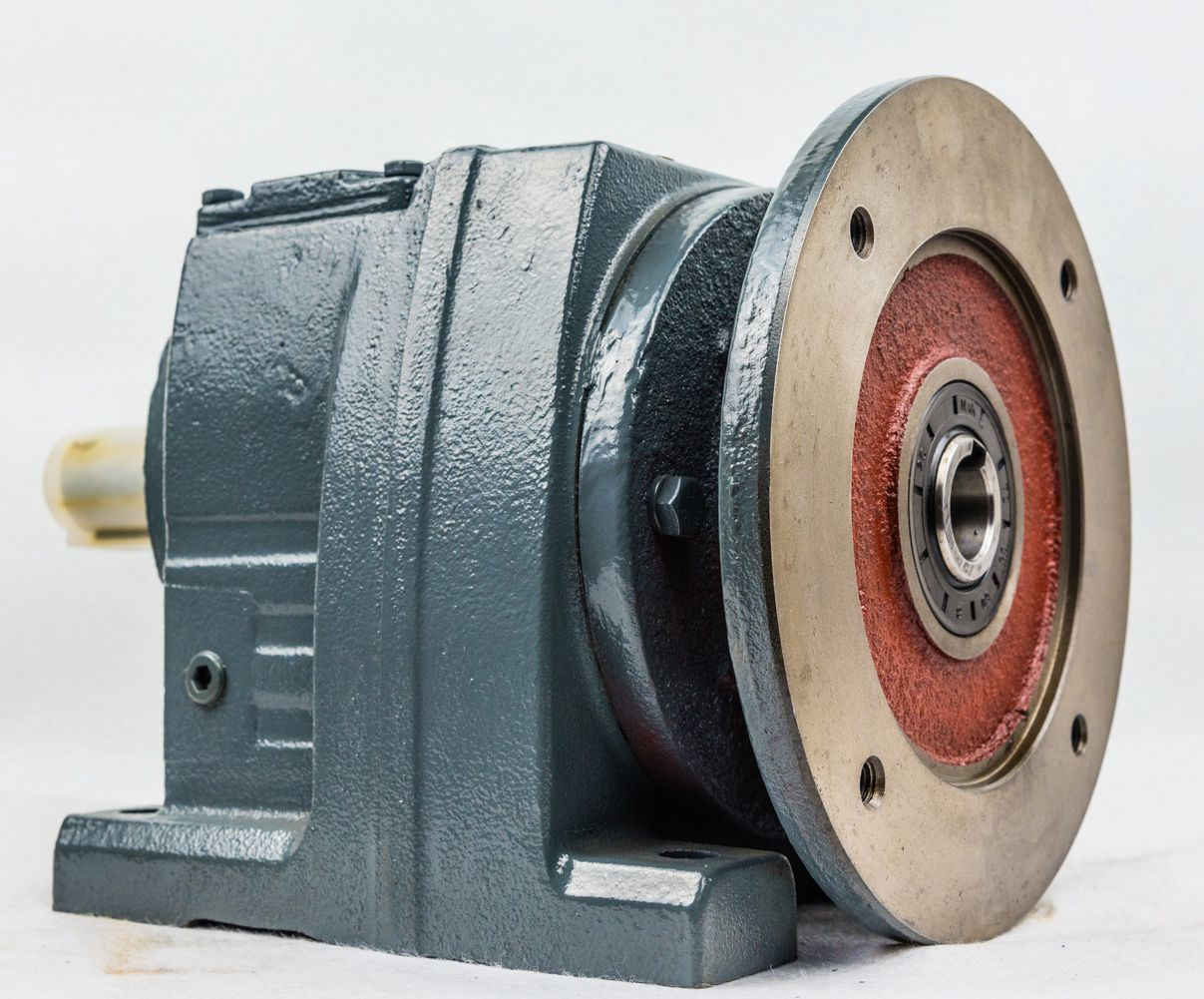 R  Trusted and Audited Suppliers Series Helical Bevel Gearbox with IEC Flange Geared Motor