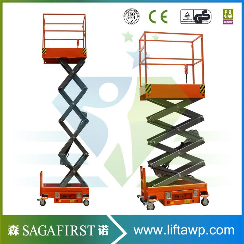 China 3m 4m Hydraulic Electric Mini Elevator Lift Aerial Lift