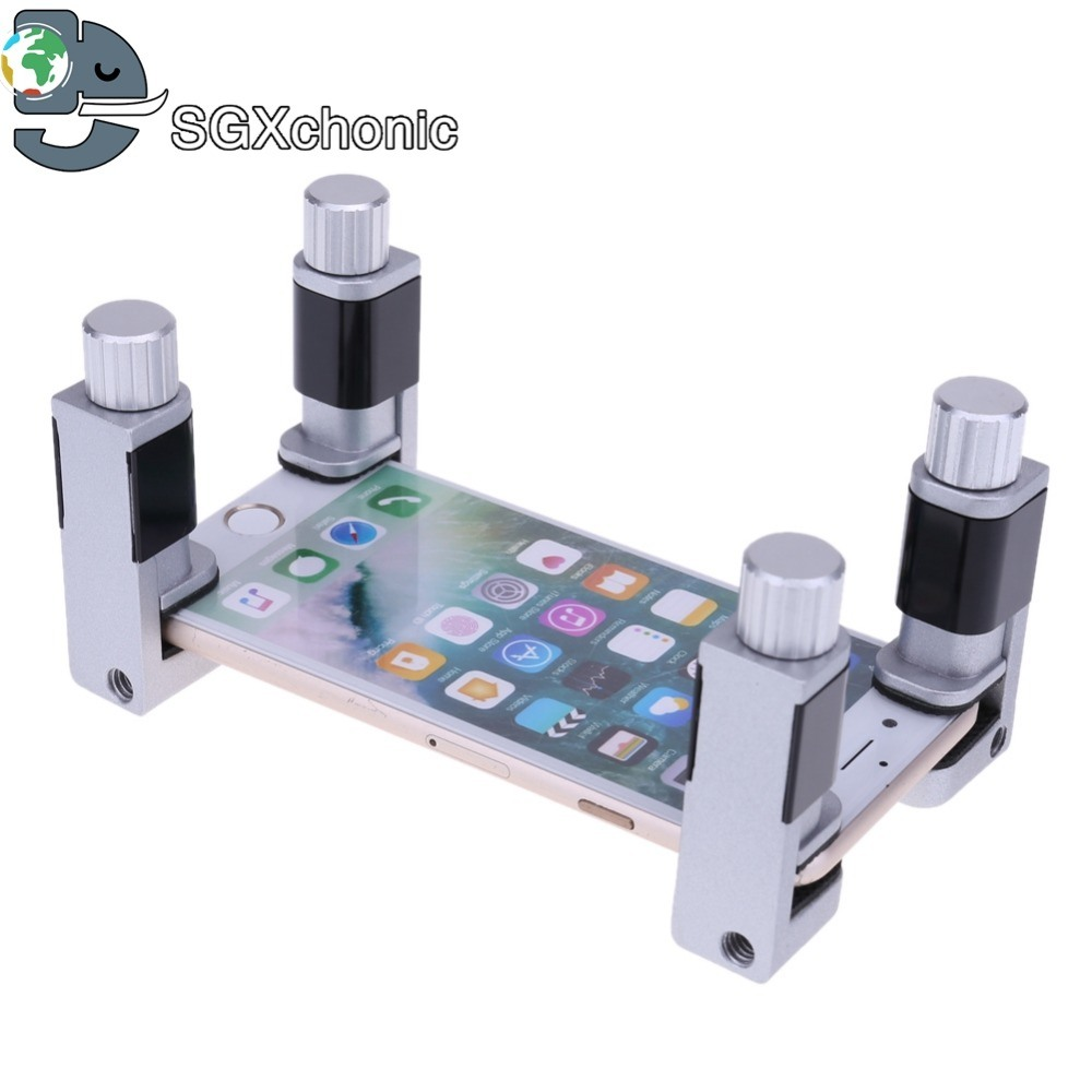 Circuit Board Clamping Kit Pcb Assembly Equipment Electronic China 4pcs Set Adjustable Rubber Lcd Screen Clip Fixture Fastening Clamp Ferramentas Cell Phone Repair Tool For Iphone Tablet