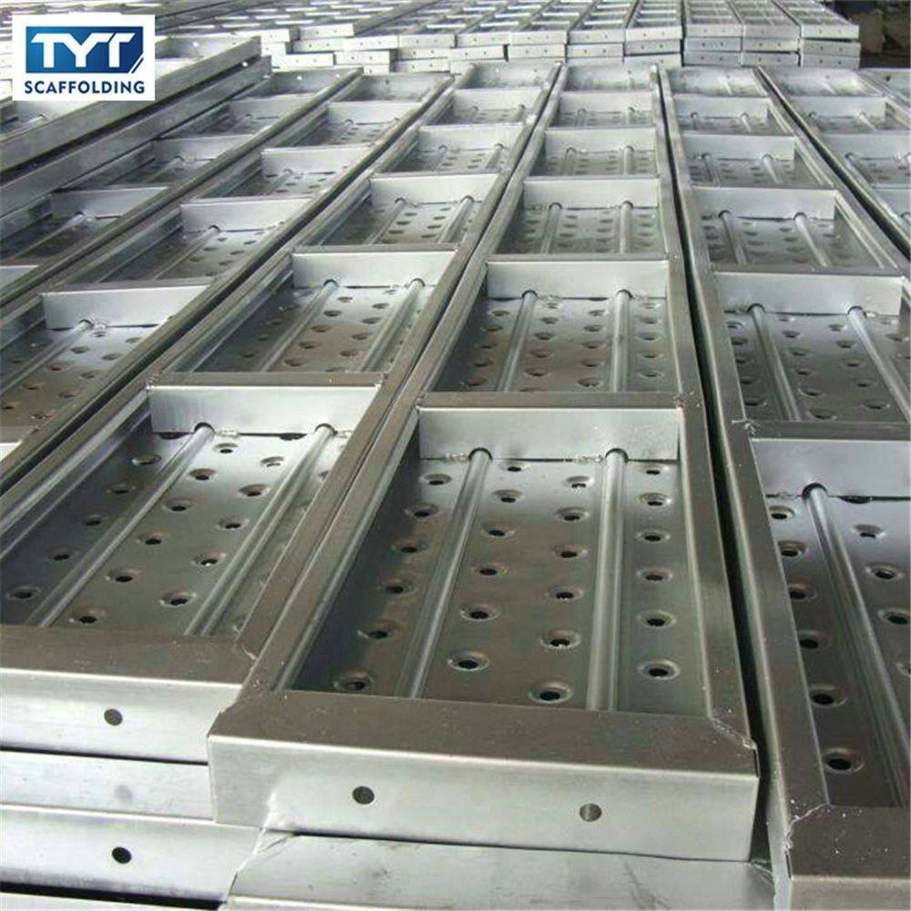 China Scaffold Board Hook Antiskid Steel Plank Catwalk - China ...