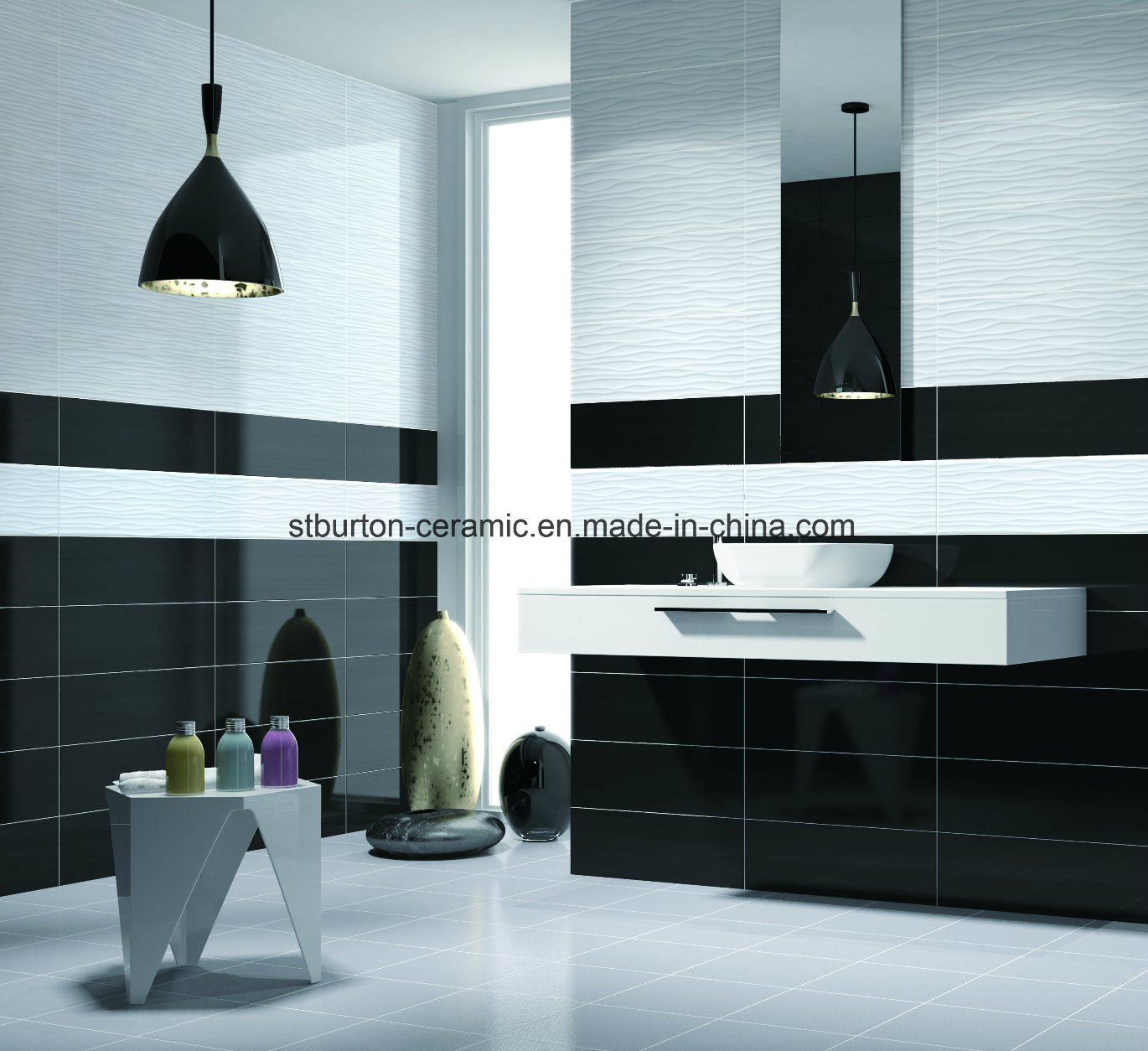 China Pure Color White Building Material Kitchen Wall Ceramic Tile ...