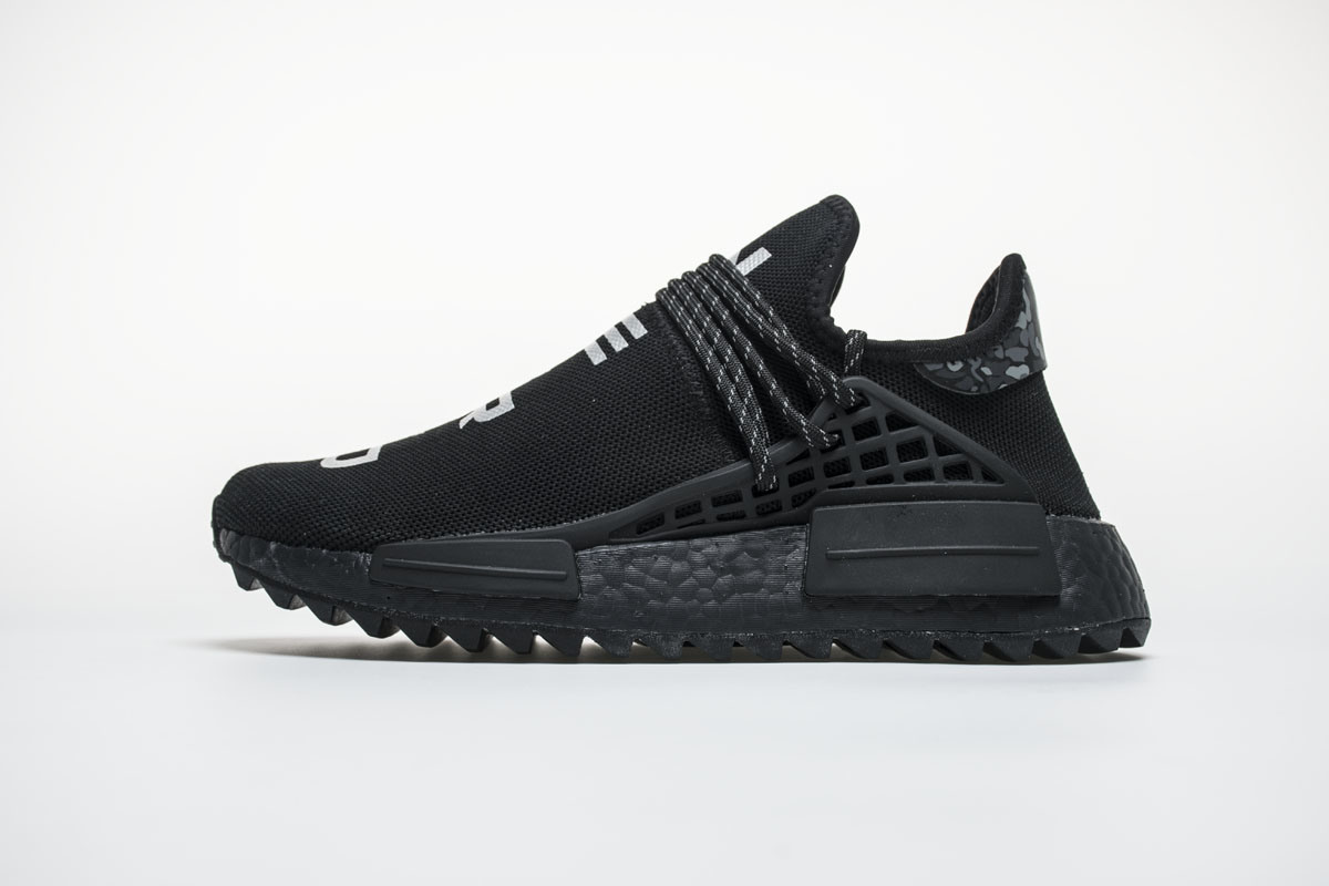 big sale 4df00 c07d3 [Hot Item] Human Race Running Shoes Pharrell Williams Hu Trail Cream Core  Black Nerd Equality Holi Nobel Ink Trainers Mens Women Sports Sneaker