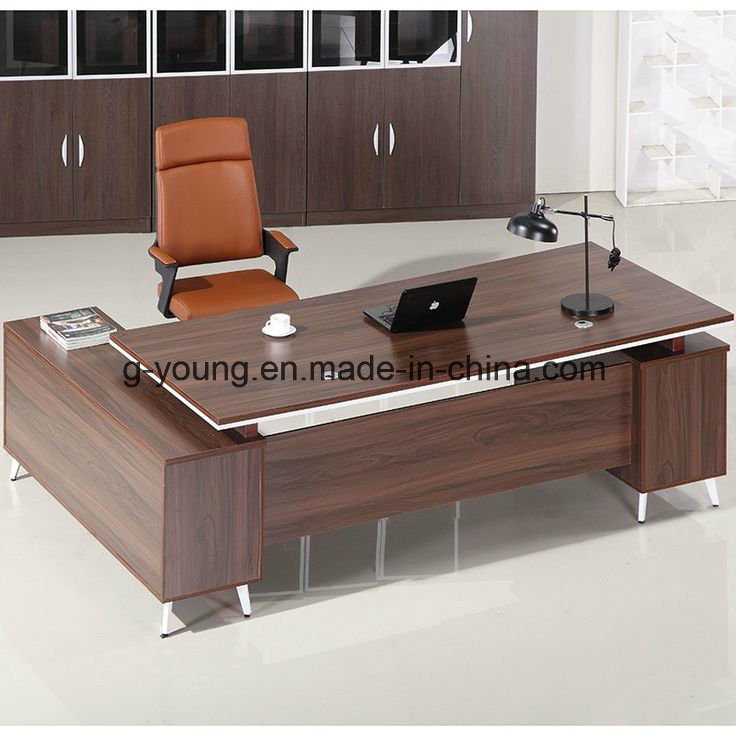 detailed look 3c8b2 e67e0 [Hot Item] Modern Style Melamine Manager Office Desk Executive Table