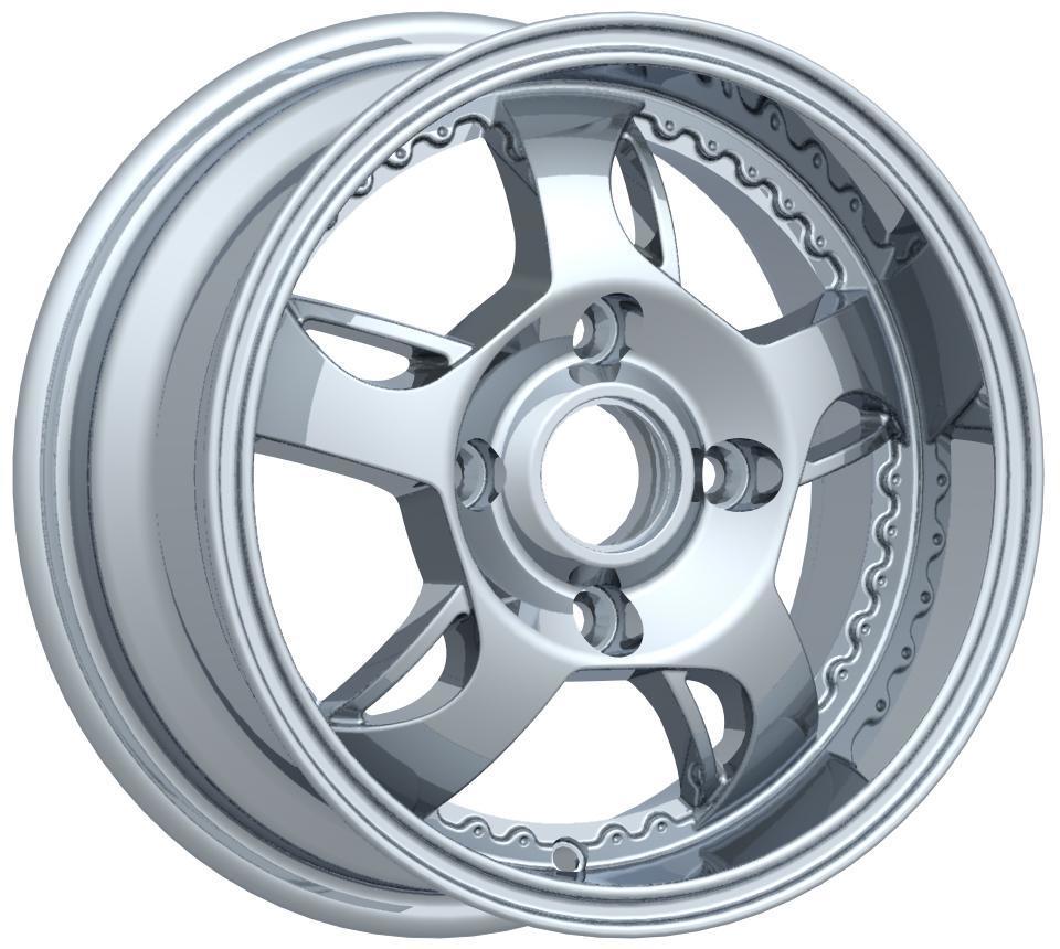 China Black Machine Face Car Alloy Wheel 14 Inch 4X100 (z835 ...