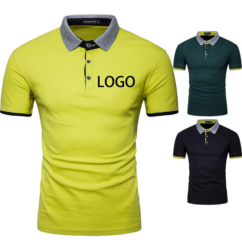 5fd7091fd Free Sample Custom T-Shirt Printing Promotional T Shirts with Logo Brand Design  Polo Shirt Manufacture China Wholesale - China Polo Shirt, Mens Polo Shirt