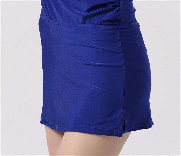 Hot Sexy Women′s Slimming Swimsuit with Removeable Skirt (14355-1) pictures & photos