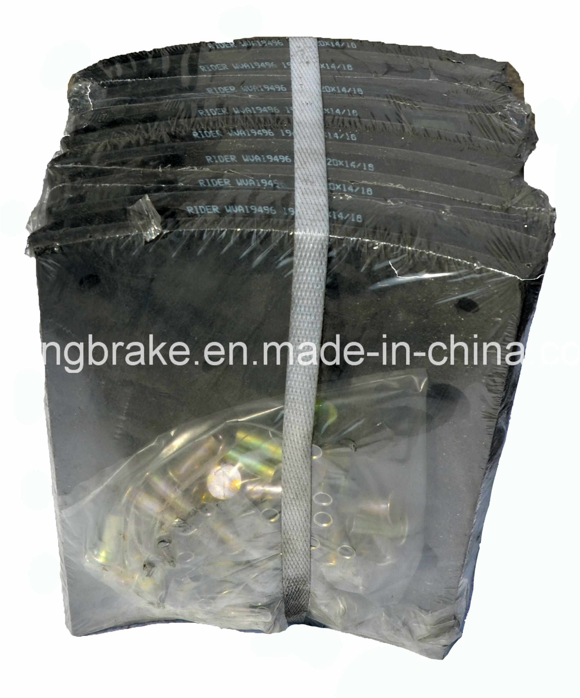 Brake Lining Asbestos Free Auto Spare Part (WVA: 19931 BFMC: SV/40/2) for European Truck