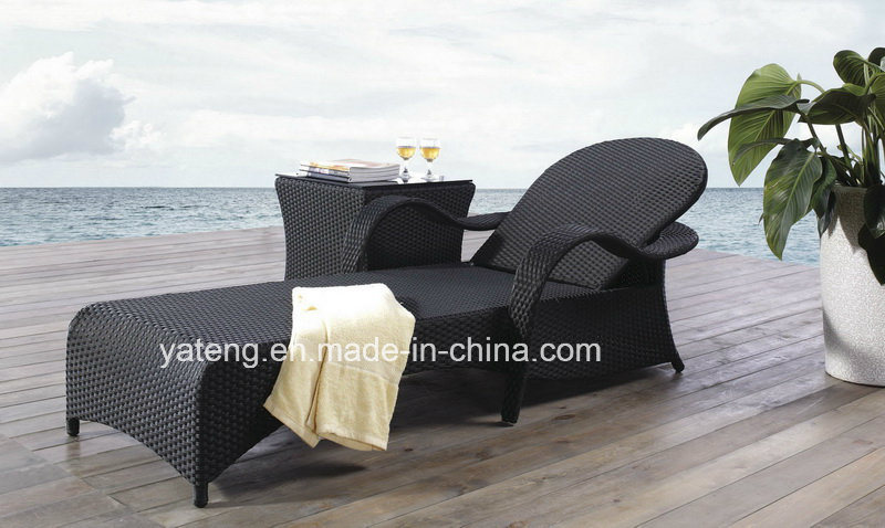 New Design Hotel Furniture Swimming Pool Side Lounge with Adjust Back Chaise Lounge Set (YT269)