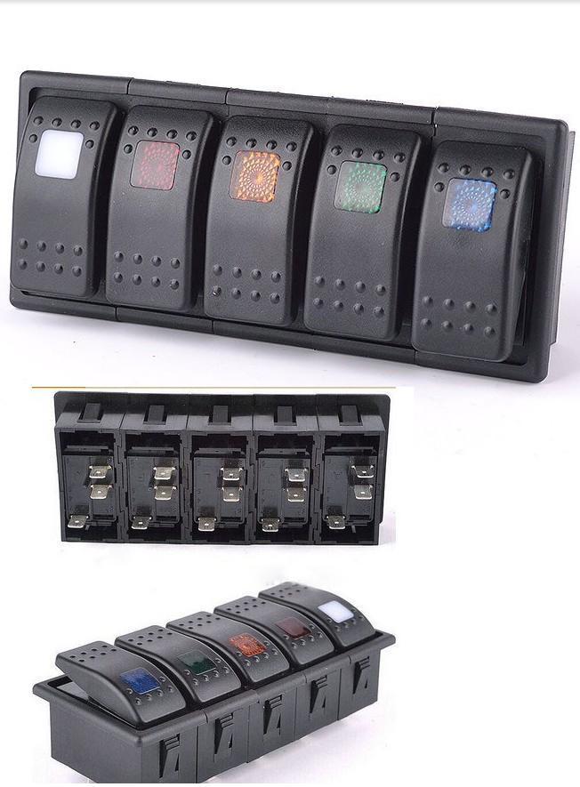 [Hot Item] Marine 12V LED Light Rocker Switches/Car Switch Panels
