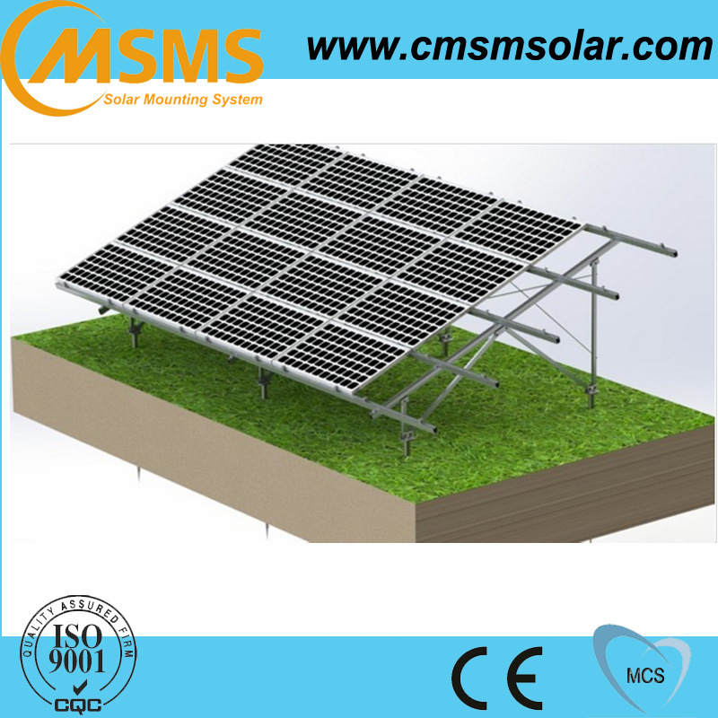 China Ground Mount Solar Panel Kits Photos & Pictures - Made