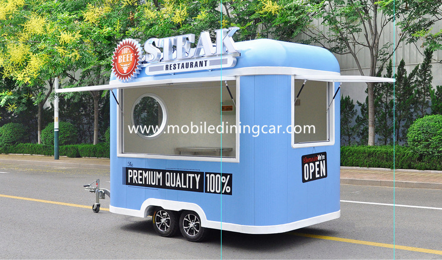 China 2018 New Type Coffee Trailer For Sale Vending CE