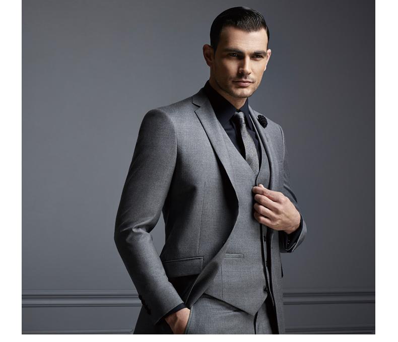 China Men′s Dress Suits Coat Pants Vest Wedding Evening Groom ...