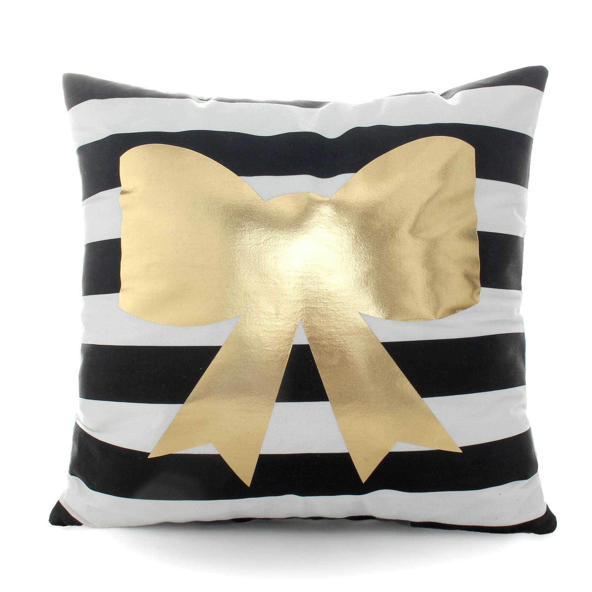 China Sofa Decorative Cushions Gold Foil Printing Pillow