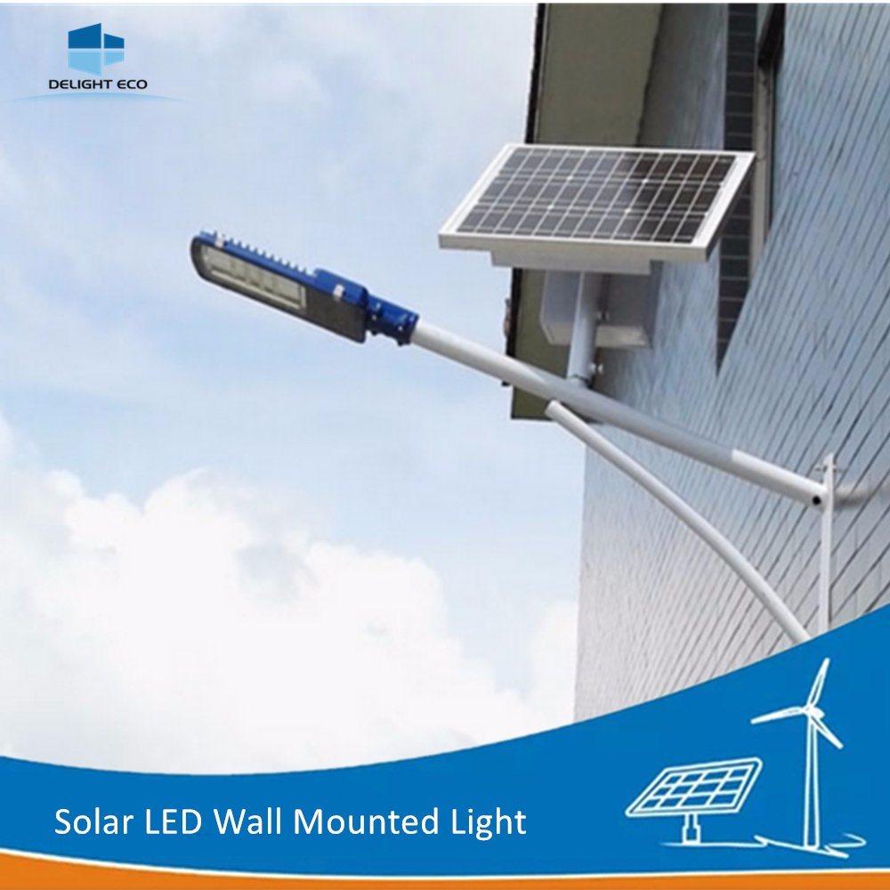 China 12w 15w Solar Led Lamp Wall