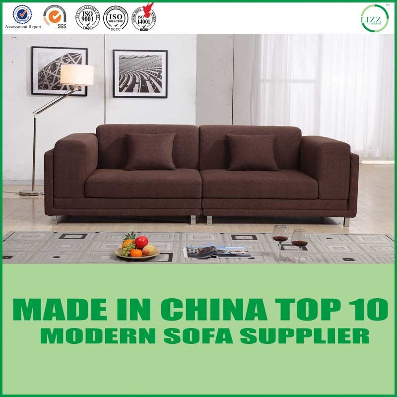 [Hot Item] Modern European Furniture Living Room Fabric Sofa Bed