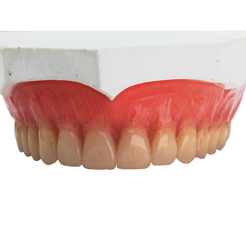 China Complete Full Upper Acrylic Denture China Dental