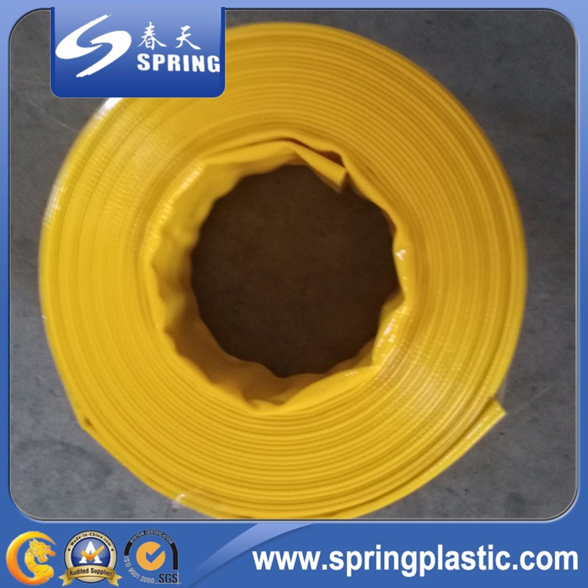 China Agricultural Irrigation Heavy Duty PVC Layflat Drip Irrigation ...