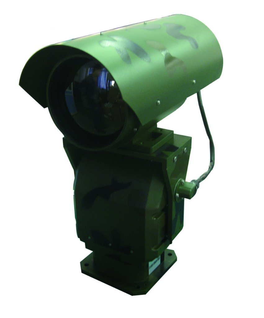 China Oil Field Used 7km PTZ Thermal Imaging Infrared Night Vision