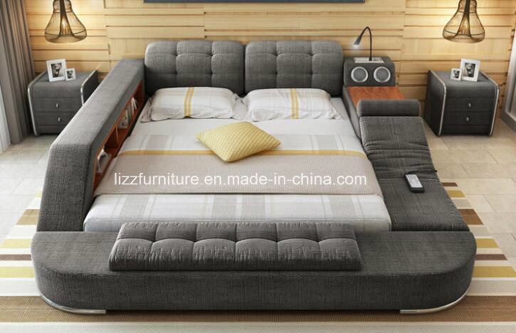 Functional Fabric Futon Bed