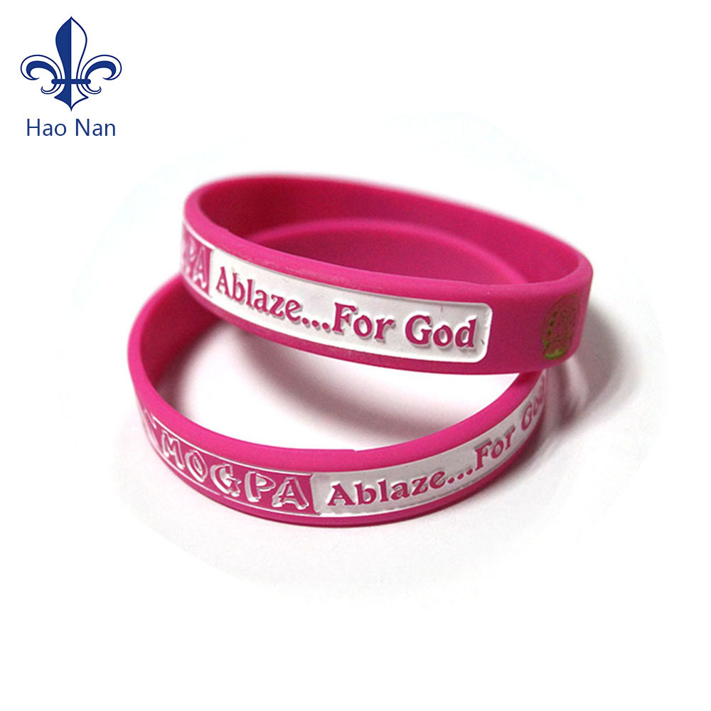 1311bd4dd1c14 [Hot Item] Customized Debossed Silicone Wristbands/ Rubber Wristband for  Event