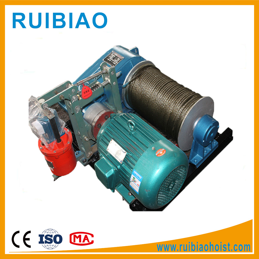 China Electric Wire Rope Electric Winch 3 Phase 380 Volt - China ...