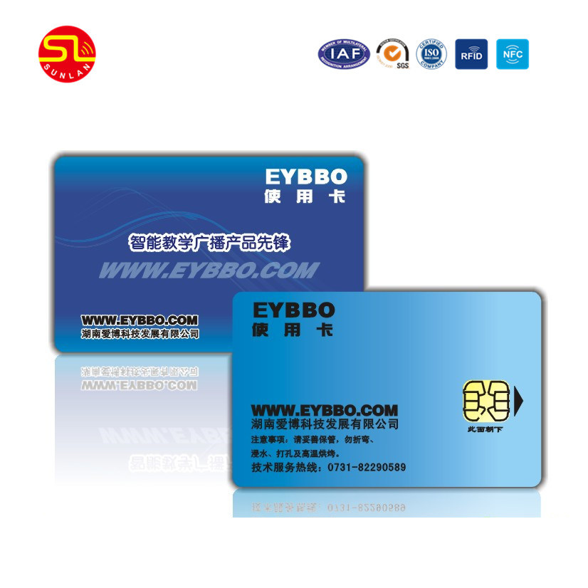 Plastic PVC Smart RFID Chip ID Card for Hotel pictures & photos