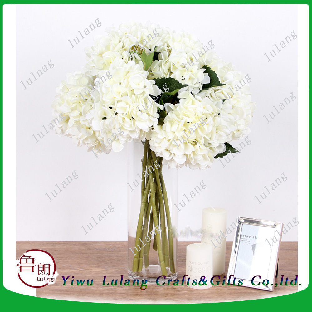 China Home Decoration Artificial Single Stem Flowers Silk Vision