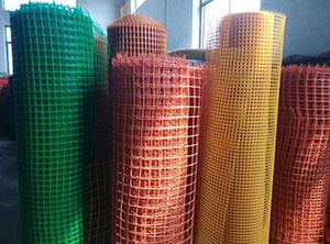 China Garden Netting Plastic Square Mesh Border Netting Plant