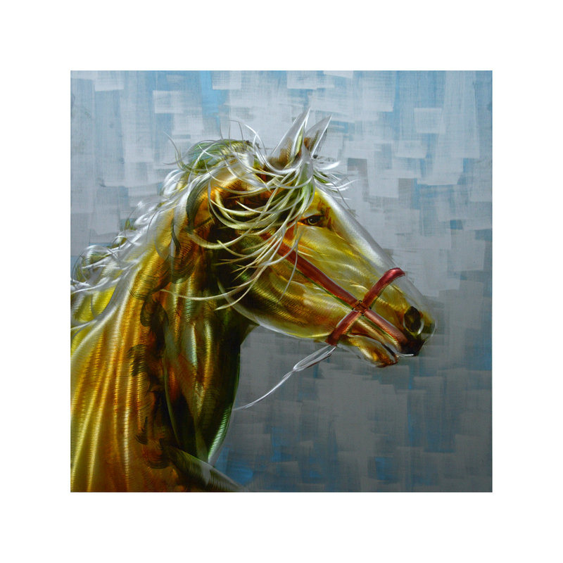 Hot Item 2017 Horse Wall Arts For Metal Painting